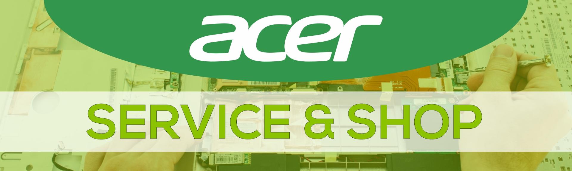service laptop acer